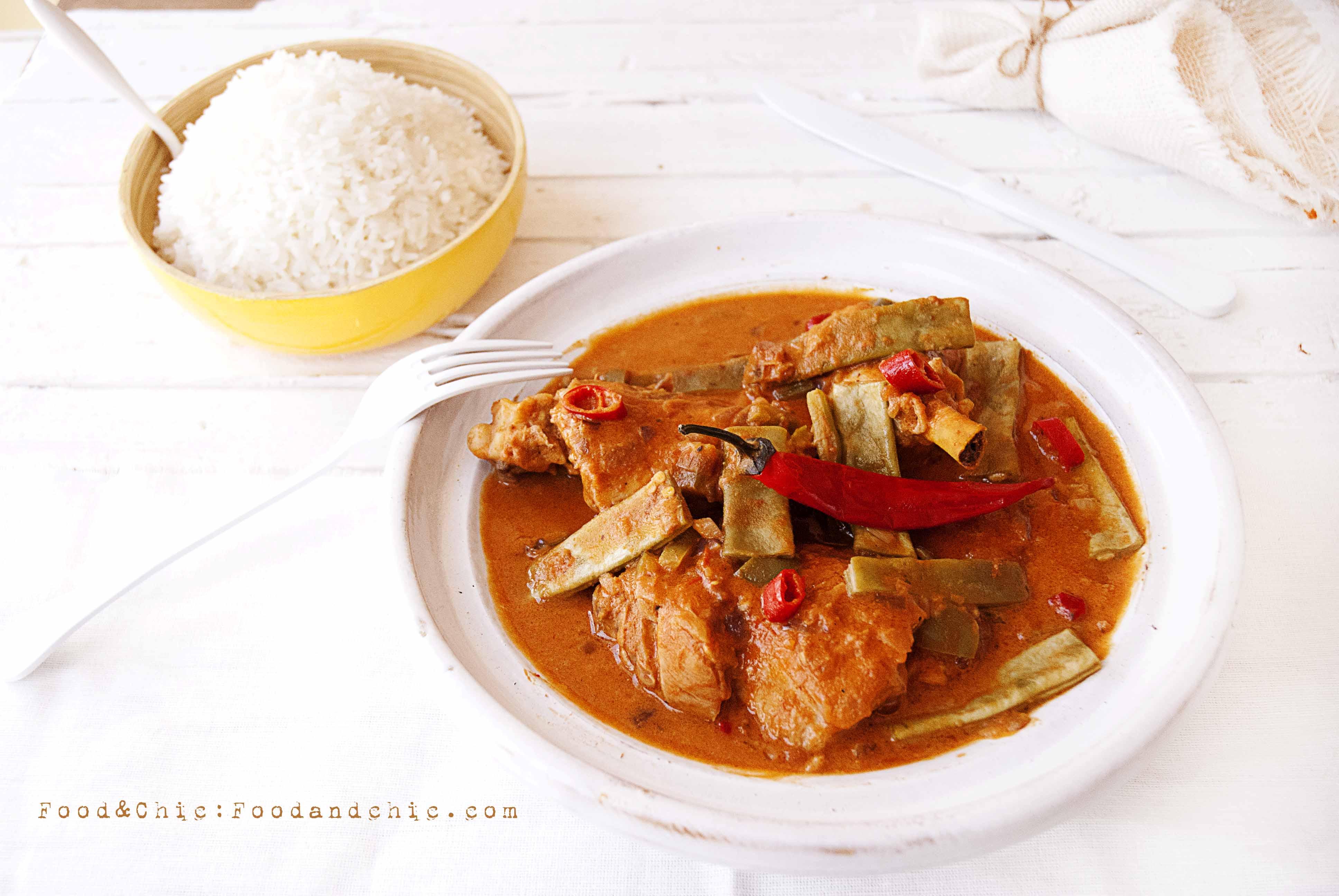 31- SENEGAL: MAFÉ (Estofado de cacahuete y pollo) |